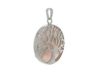 Okrúhly prívesok strom života - ruženín