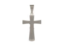 Oceľový prívesok kríž