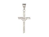 Oceľový prívesok krížik