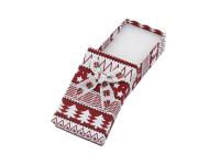Vianočná darčeková krabička Red 50x80x25 mm