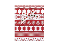 Vianočná darčeková krabička Red 90x110x28 mm