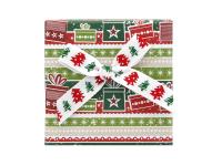 Vianočná darčeková krabička Green 60x60x25 mm