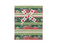 Vianočná darčeková krabička Green 90x110x28 mm