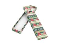 Vianočná darčeková krabička Green 45x200x25 mm