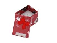 Vianočná darčeková krabička 50x50x40 mm