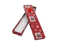 Vianočná darčeková krabička 47x203x25 mm