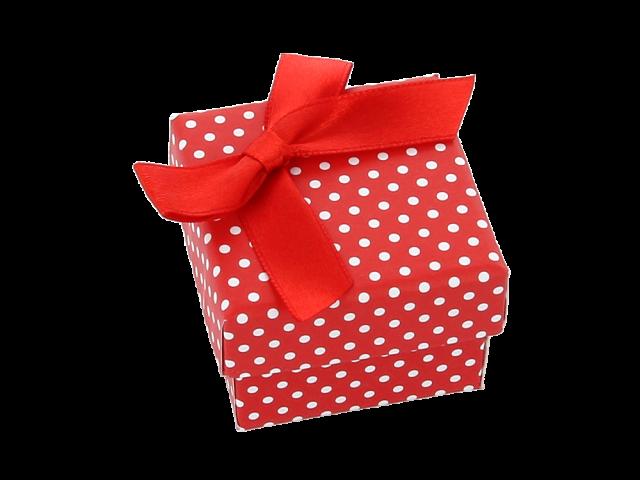 Darčeková krabička Dotty 40x40x32 mm