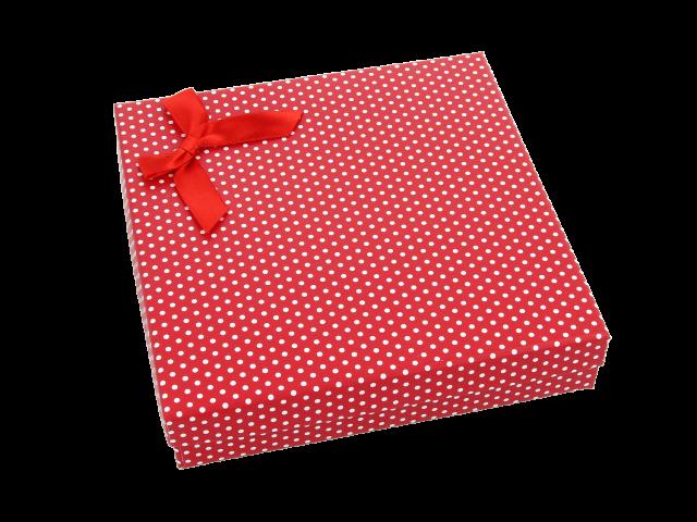 Darčeková krabička Dotty 140x140x30 mm