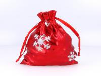 Červené darčekové vrecko Vianoce 90x120 mm