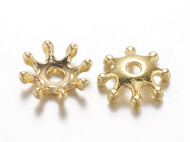 Kaplík kvet č.11 8x2,5mm - zlatá (bal. 50ks)