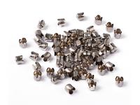 Kaplík tulipán 6,5x7mm - platinová (bal. 100ks)