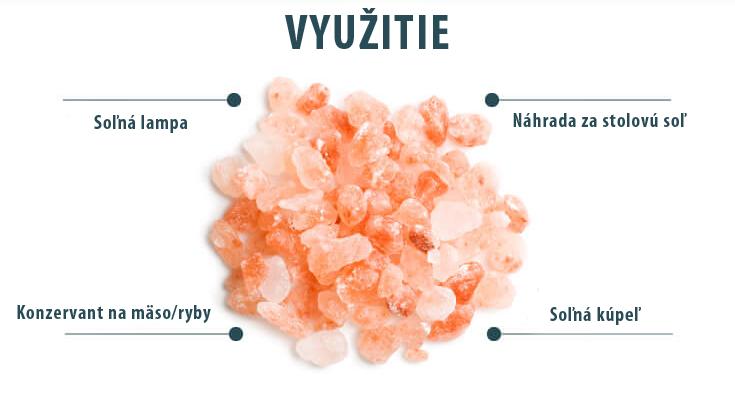 Využitie Himalájskej soli
